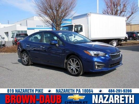 2018 Subaru Impreza Limited In Nazareth Pa Lehigh Valley Subaru