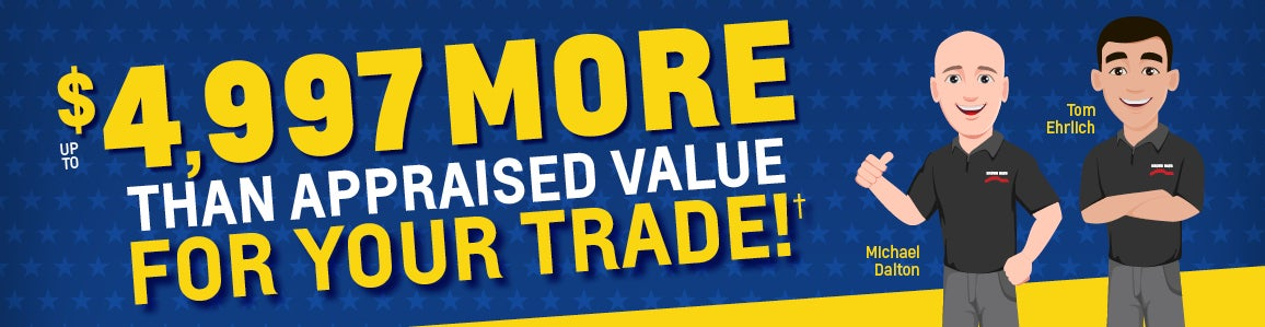 Used Car Trade In Value Value Your Trade Nazareth Pa Wind Gap